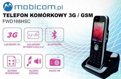 Telefon GSM - mobicom FWD168HSC 3G BT