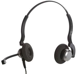Zestaw słuchawkowy dla operatorów call-center Accutone TB910 QD