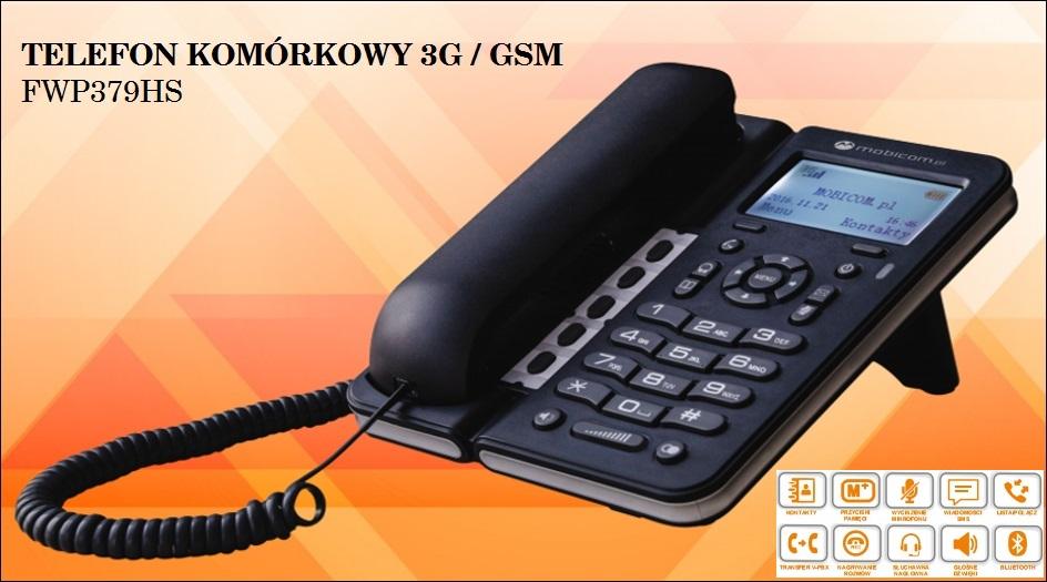 Telefon komórkowy 3G na kartę SIM FWP379HS